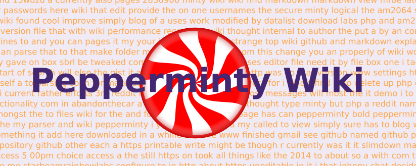Pepperminty Wiki turns 2(!) :D
