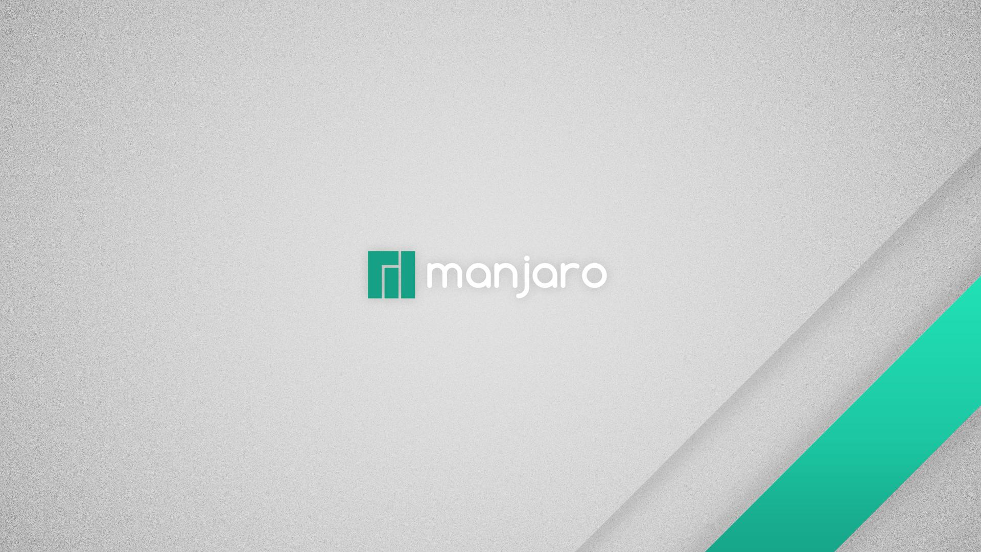 Oen of the default Manjaro wallpapers.